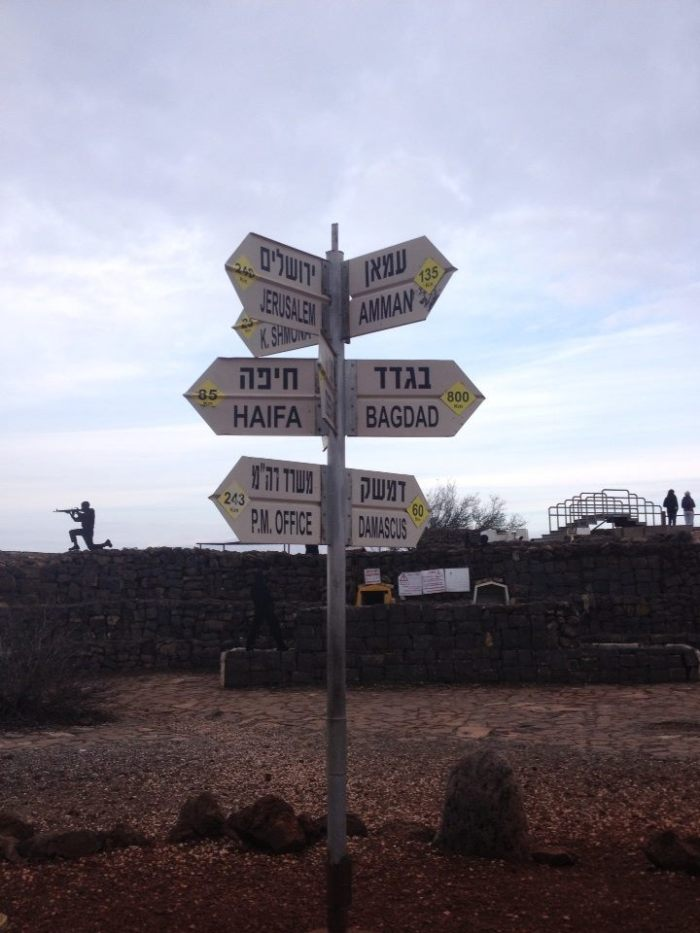 israel cities sign